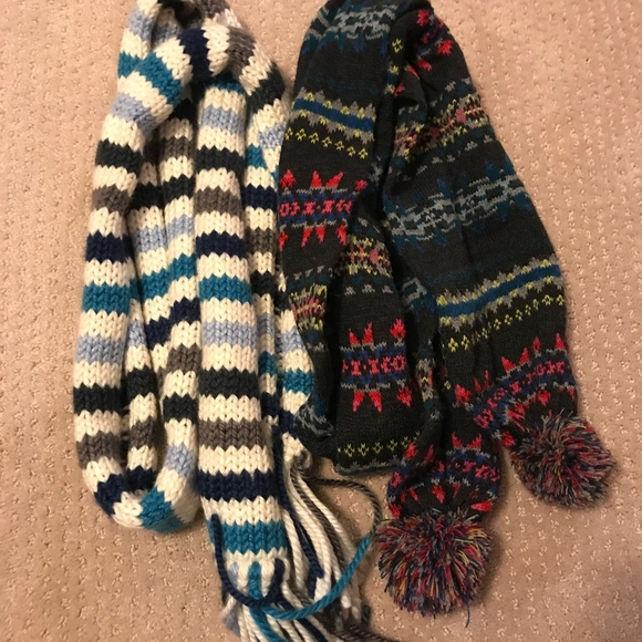 American Eagle Outfitters Accessories - Two AE Winter scarves